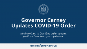Governor Carney Updates COVID-19 Order