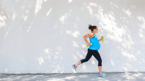 Some mothers-to-be and doctors worry about exercise during pregnancy. But it's really okay.