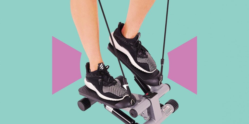 Sunny Health & Fitness Stepper Keeps Me Active at Home