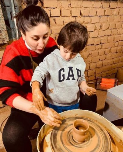 Taimur Ali Khan Is A Fitness Enthusiast Just Like Mommy, Kareena, Flaunts His Post-Yoga Stretches