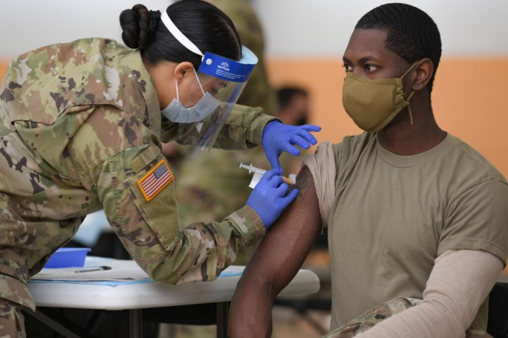 US Army surpasses one million COVID vaccines administered at Medical Treatment Facilities   Article